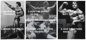 Le 6 regole del successo secondo Arnold Schwarzenegger