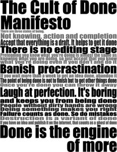 il manifesto del fare